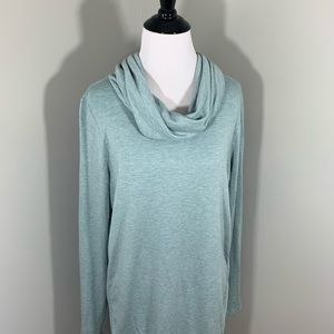 Lou & Grey Cowl Neck long sleeve comfy top small